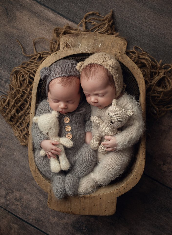 newborn twin boys