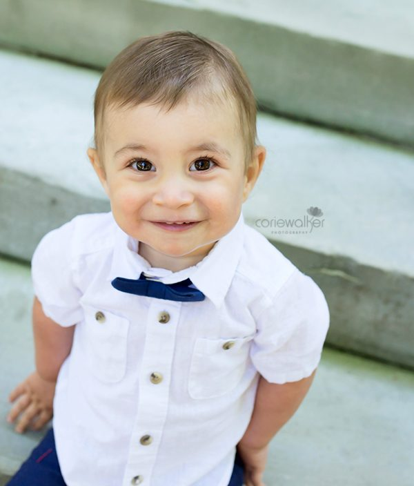 Akron Family Photographer   Knox turns 1