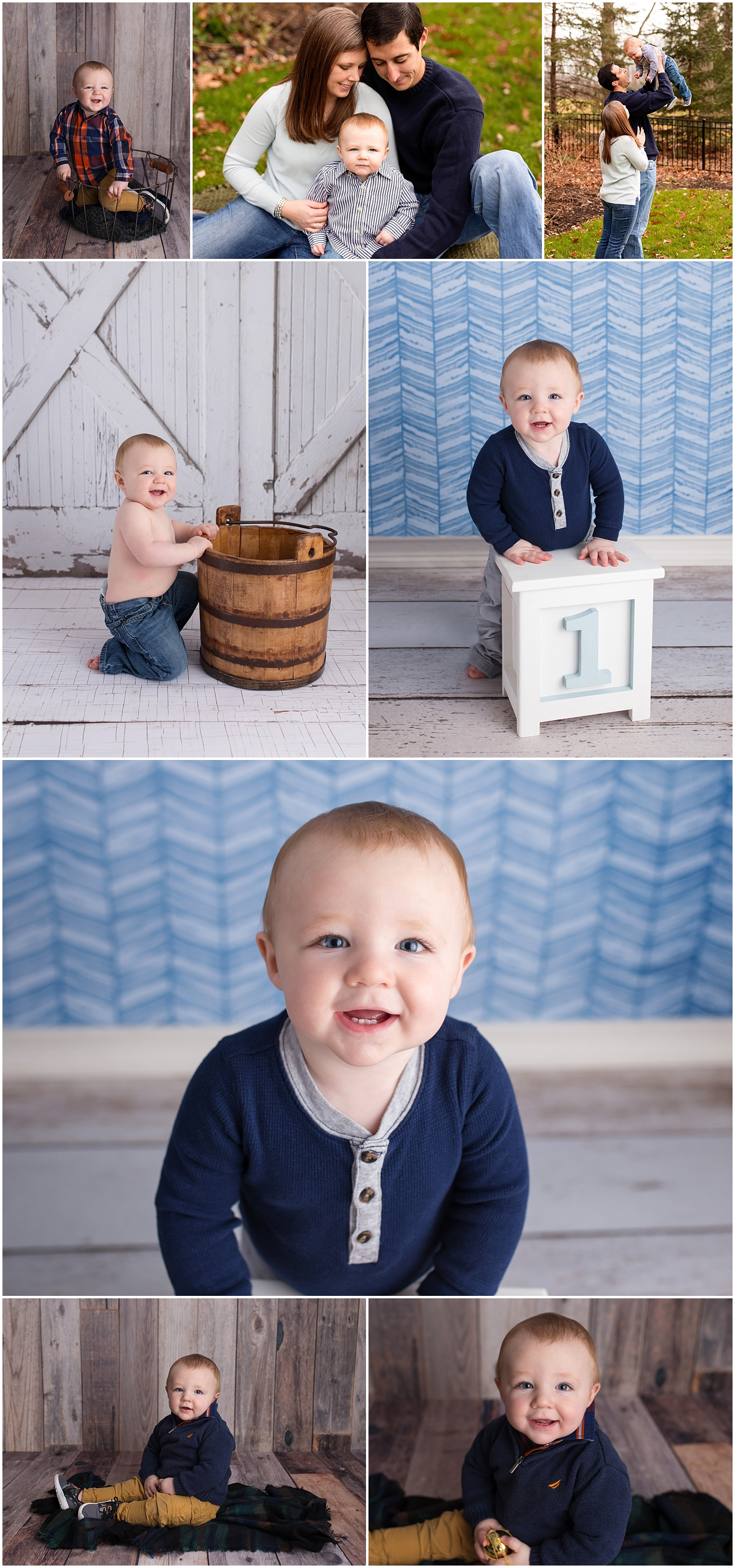 Children's First Year Milestone Sessions