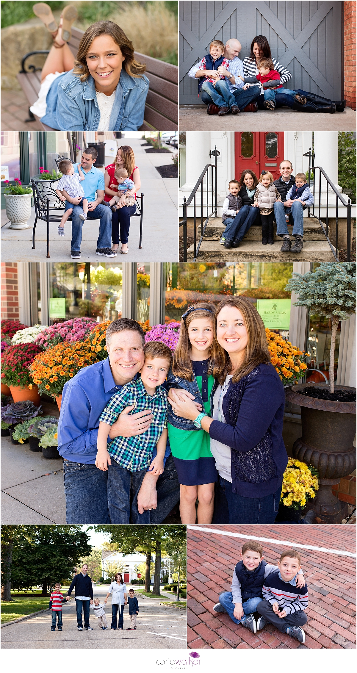 Downtown Hudson Photo Session