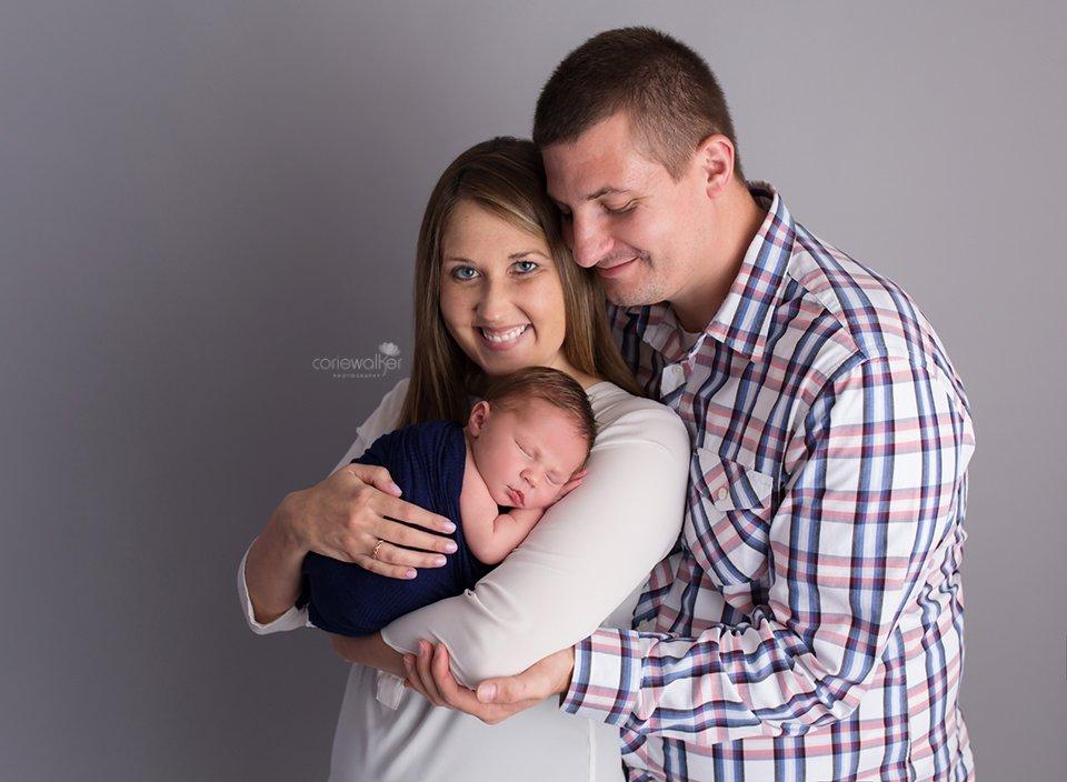 baby boy hudson OH newborn photographer