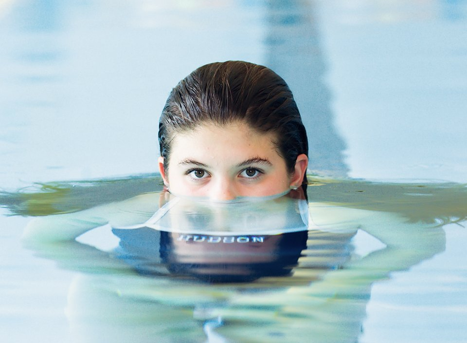Swimmer Senior Photography