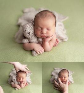 photography newborn composite