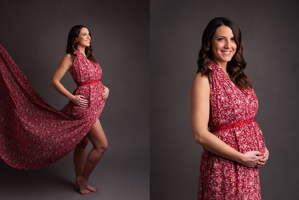 fiona maternity gown