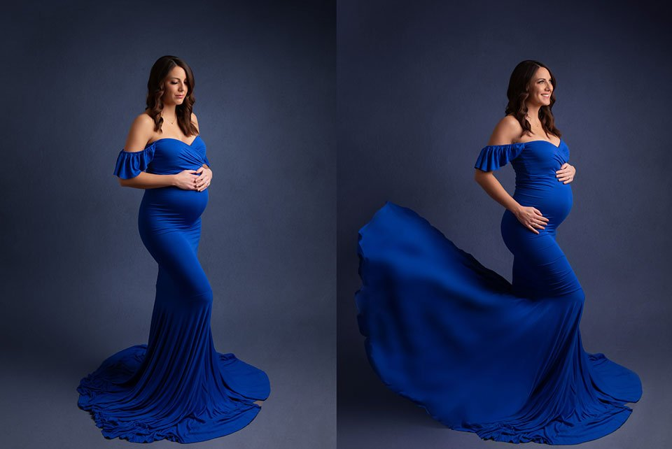 georgia maternity gown